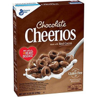 General Mills Chocolate Cheerious Gluten Free 11.25 Oz. Pack Of 3.