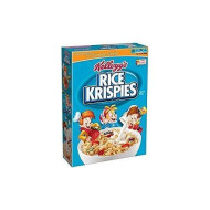 Kellogg'S Rice Krispies Toasted Rice Cereal 12 Oz. Pack Of 3.