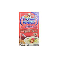 Cream Of Wheat Instant Hot Cereal Original Flavor 12 Oz. Pack Of 6.