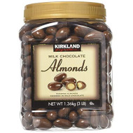 Kirkland Signature Milk Chocolate Almonds 2 Pack Jar