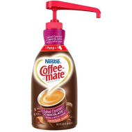 Nestle Coffee-Mate Coffee Creamer, Salted Caramel Chocolate, 1.5L Liquid Pump Bottle, Pack Of 1