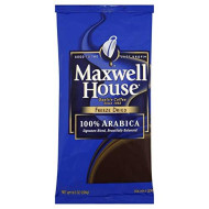 Maxwell House Freeze Dried 100 Percent Arbica Soluble Coffee - 8 Oz. Pack, 8 Packs Per Case