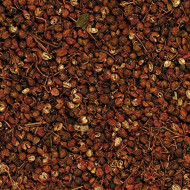 The Spice Lab No. 58 - Wild Red Szechuan Peppercorn - Kosher Gluten-Free Non-Gmo All Natural Pepper - 4 Oz Resealable Bag