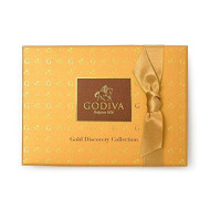 Godiva Chocolatier Assorted Gold Discovery Gift Box, Gourmet Chocolates, Great For Any Gift, Chocolate Gifts, Assorted Chocolates, 12 Piece