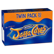 Original English Mcvities Jaffa Cakes Twin Pack Imported From The Uk England Twin Pack ...