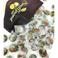 Sweetgourmet Chocolate Mint Starlight | Clear Wrap Bulk Hard Candy | 2 Pounds