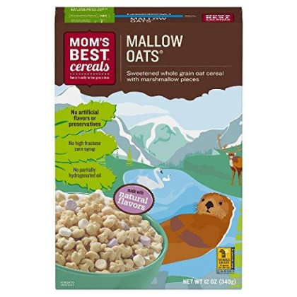 Mom'S Best Cereals Mallow Oats Cereal 12 Oz (Pack Of 3)