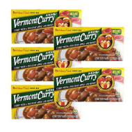 [ 5 Packs ] House Foods Vermont Curry Medium Hot 8.11 Oz (230G)