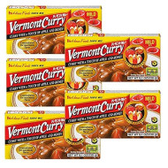 [ 5 Packs ] House Foods Vermont Curry Mild 8.11 Oz (230g)
