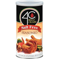 4C Salt Free Seasoned Bread Crumbs 12 oz. (Pack of 3)