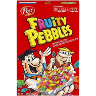 Post Fruity Pebbles Gluten Free Cereal, 11 Ounce (Pack Of 12)