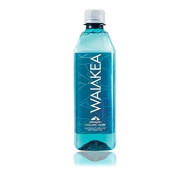 Waiakea Hawaiian Volcanic Water, Naturally Alkaline, 100% Upcycled Bottle, 500Ml (Pack Of 24)