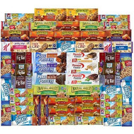 Ultimate Healthy Fitness Box - Protein &Amp; Healthy Granola Bars Sampler Snack Box (56 Count) - Care Package - Gift Pack - Variety Of Fitness, Energy Bars And Premier Protein Bars