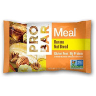PROBAR - Meal Bar, Banana Nut Bread, Non-GMO, Gluten-Free, Certified Organic, Healthy, Plant-Based Whole Food Ingredients, Natural Energy (12 Count) Packaging May Vary