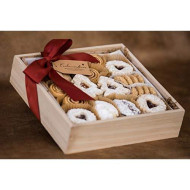 Square Box Gluten Free Assorted Cookies- 1.5Lbs