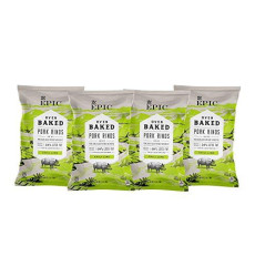 Epic Artisanal Oven Baked Pork Rinds, Chili Lime, 2.5 Oz. (4 Count)