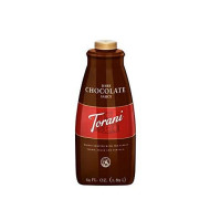Torani Dark Chocolate Sauce, 64 Ounce