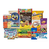 Care Package for College Students (15 Count), Military, Christmas Gifts, Finals, Birthday, Office Snacks and Back to School with Chips, Cookies and Candy From SnackBOX
