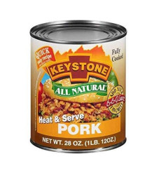 PACK OF 6 - Keystone: Heat & Serve Pork, 28 oz