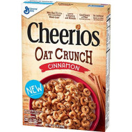 Cheerios Cinnamon Oat Crunch Breakfast Cereal, 15.2 Oz