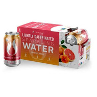 Limitless Coffee Lightly Caffeinated Sparkling Water, Grapefruit Hibiscus, 8 Count