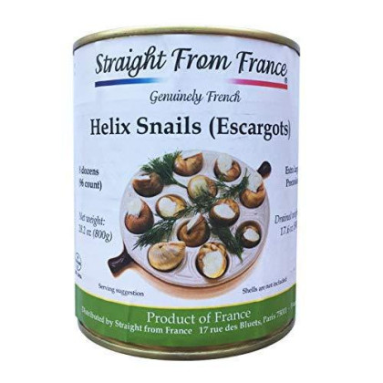 Straight from France Very large French Helix Lucorum Escargots Snails (8 dozens)