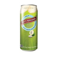 Taste Nirvana Taste Nirvana Coconut Water With Pulp - Case Of 12-16.2 Fl Oz.