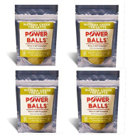 Power Balls Paleo Angel Healthy Paleo Approved Gluten Free Aip Protein Snack Bars (Matcha Green Tea Latte 4-Pack)