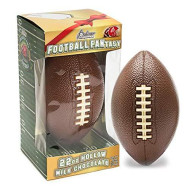 R.M. PALMER Football Fantasy Milk Chocolate Hollow Football in a Gift Box, Holiday Themed Treats, Candy, and Snacks