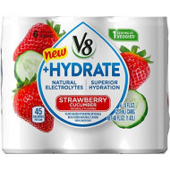 V8 Hydrate Plant-Based Hydrating Beverage, Variety Pack, 24 Count