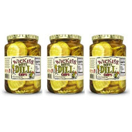 Wickles Dirty Dill Chips, 24 Oz (Pack - 3)