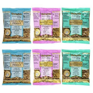 Tinkyada Organic Gluten-Free Brown Rice Pasta 3 Shape Variety Bundle: (2) Elbow Pasta, (2) Spirals Pasta, And (2) Penne Pasta, 12 Ounce Ea.