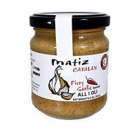 Matiz Fiery All I Oli Garlic Spread, 6.5 Oz