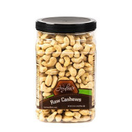 Jaybee'S Extra Large Whole Cashews - Raw - Unsalted Great For Gift Giving Or As Everyday Healthy Snack - Reusable Container - Certified Kosher - (32 Ounces)