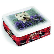 Campbells Shortbread In Westie Tin (90G)