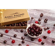 Andy Anand'S California Dark Chocolate Covered Cherries 1 Lb, For Birthday, Valentine Day, Gourmet Christmas Holiday Food Gift Basket, Thanksgiving, Mothers Fathers Day, Get Well Gift For Men &Amp; Women