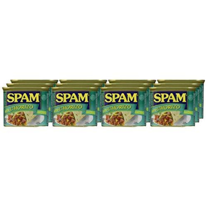 Spam Chorizo, 12 Ounce (Pack Of 12)
