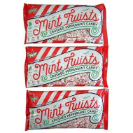 Mint Twists Crushed Peppermint Candy For Baking, 8 Oz, Pack Of 3