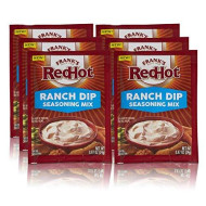 Frank'S Redhot Ranch Dip Seasoning Mix, 0.87 Oz (Pack Of 6)