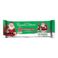 Russell Stover Christmas Edition Marshmallow Milk Chocolate 8Ct In 1 Pack