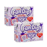 Fun Dip Mystery Flavor Valentines Day School Classroom Exchange Pouches 48 Total (2 Pks Of 24)