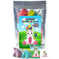 Zombie Unicorn Head Gummies - Funny Unique Christmas Stocking Stuffer Gag Birthday Candy Gift For Boy, Girl And Teens