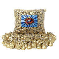 Crazyoutlet Pack - Hershey'S Kisses Creamy Milk Chocolate, Limited Edition Gold Wrapping Christmas Candy Bulk, 2 Lbs