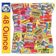 Kids Fun Candy 48Oz Pack For Party Bags, Gifts, And Office Snacks