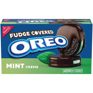 OREO Fudge Covered Mint Cookies, 9.9 Oz. Package