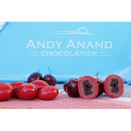 Andy Anand Milk Chocolate Cherries Delectable &Amp; Delicious- Dipped In Layers Of Chocolate,1 Lb Gift Boxed &Amp; Greeting Card For Birthday, Valentine Day, Christmas Holiday Food Gifts, Mothers Day Get Well