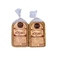 Amish Country Popcorn - 2 Lb Baby Yellow &Amp; 2 Lb Medium Yellow Kernels - Old Fashioned, Non Gmo, Gluten Free, Microwaveable, Stovetop And Air Popper Friendly With Recipe Guide