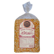 Amish Country Popcorn - 6 Lb Baby Yellow Kernels - Small &Amp; Tender Popcorn - Old Fashioned, Non Gmo, Gluten Free, Microwaveable, Stovetop And Air Popper Friendly With Recipe Guide