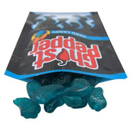 Spicy Ghost Pepper Cherry Flavored Hard Candy, 1.5 Ounce (Blue Raspberry)