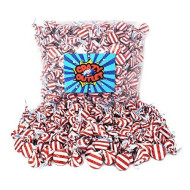 Crazyoutlet Pack - Hershey'S Kisses Milk Chocolate, Christmas Candy, Red Striped White Foils, 2 Lbs